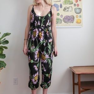 Urban Outfitters // Floral Tank Jumpsuit